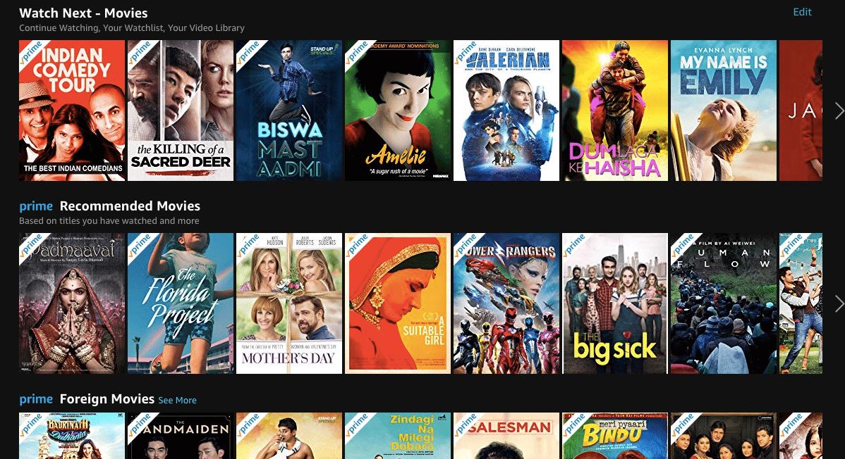 Best New Movies on AMAZON
